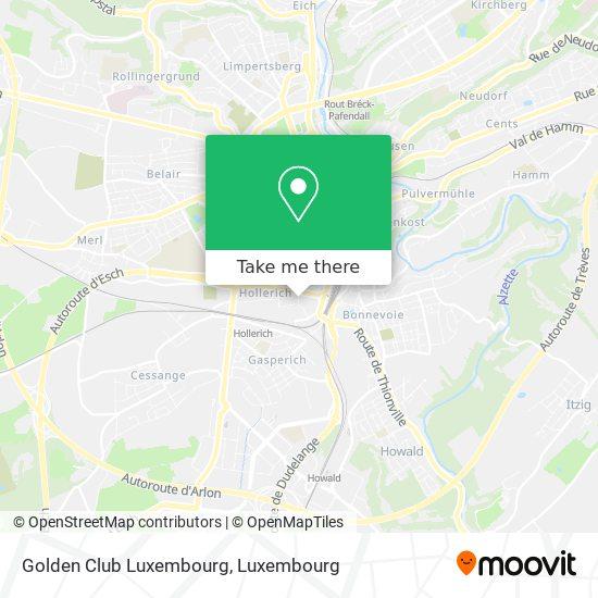 Golden Club Luxembourg, 1, Rue Joseph Heintz 1722 Luxembourg map