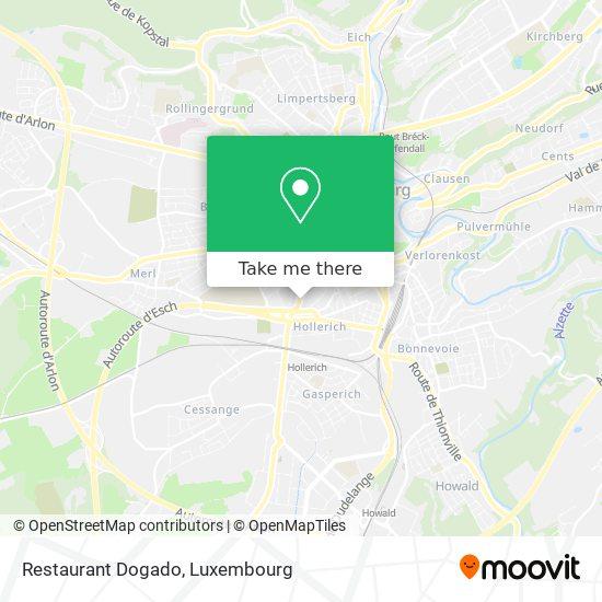Restaurant Dogado, 75, Route d'Esch 1470 Luxembourg map