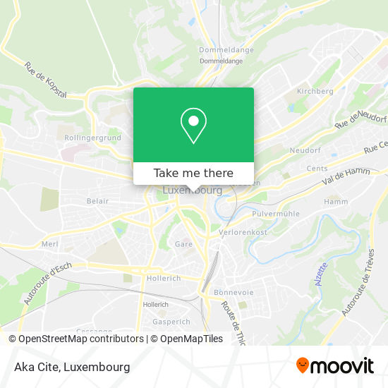Aka Cite, 3, Rue Genistre 1623 Luxembourg map