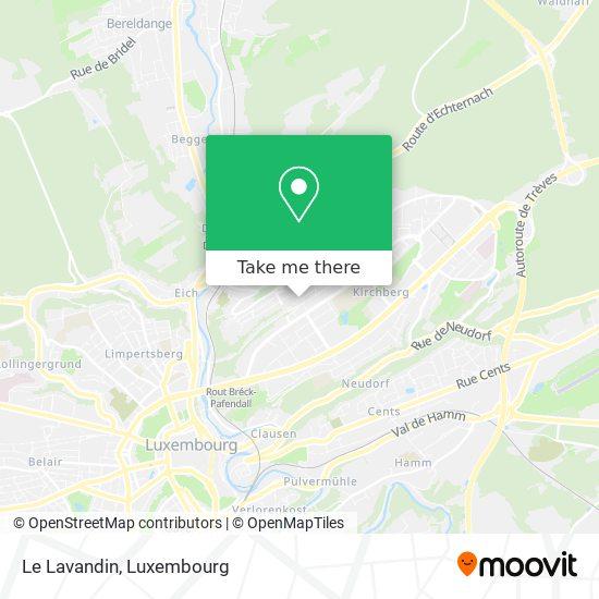 Le Lavandin, 23, Rue de la Lavande 1923 Luxembourg map