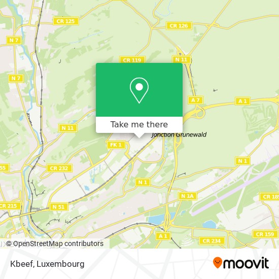 Kbeef, 1734 Luxembourg map