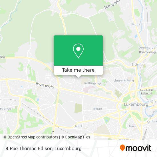 4 Rue Thomas Edison map