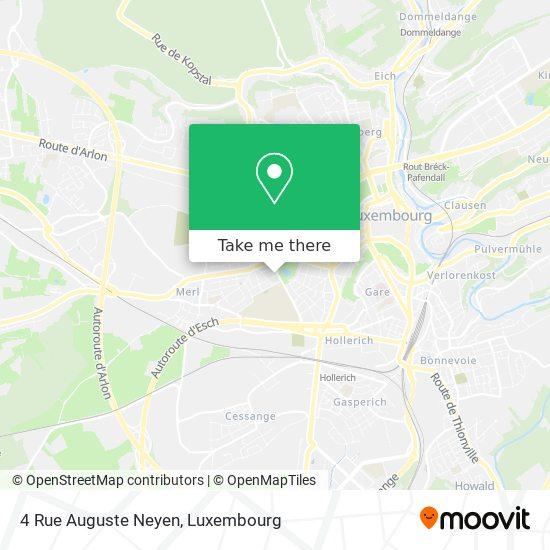 4 Rue Auguste Neyen map