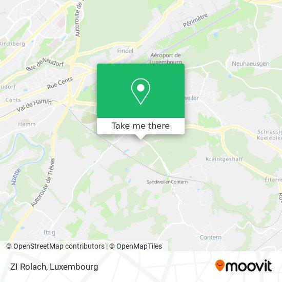 ZI Rolach map