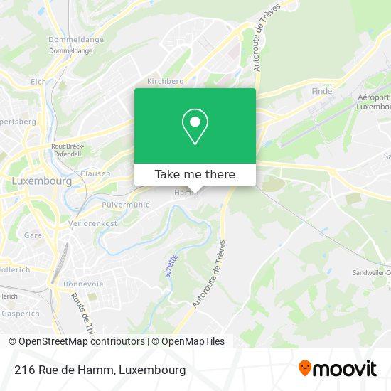 216 Rue de Hamm map