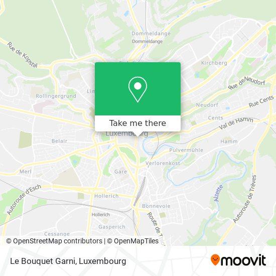 Le Bouquet Garni map