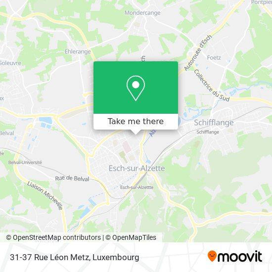 31-37 Rue Léon Metz map