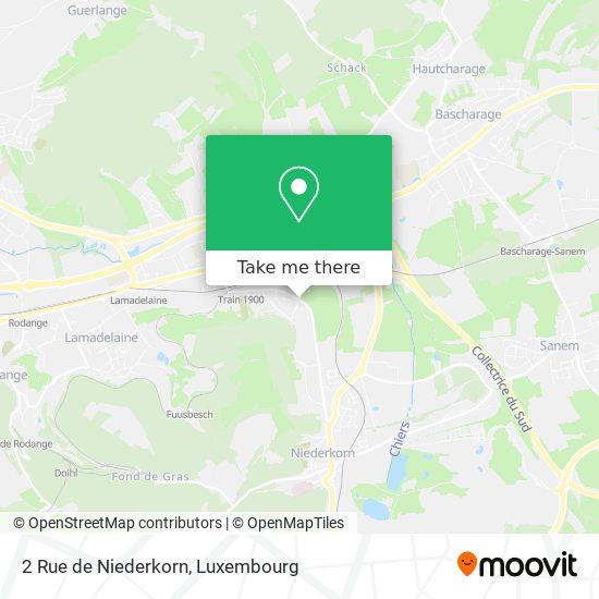 2 Rue de Niederkorn map