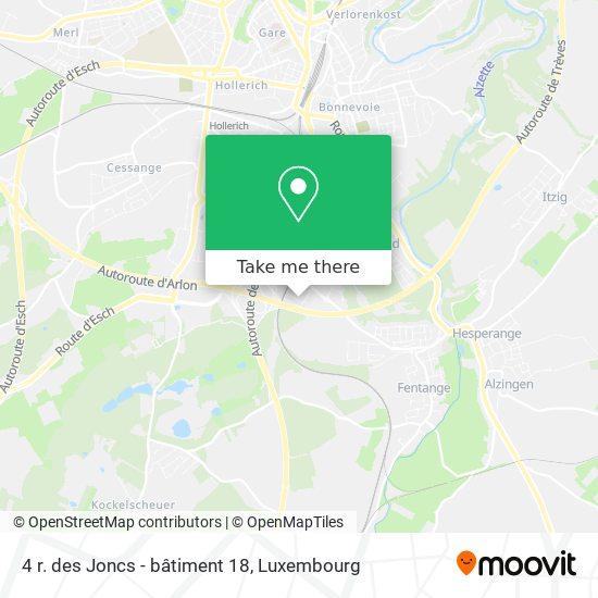 4 r. des Joncs - bâtiment 18 map