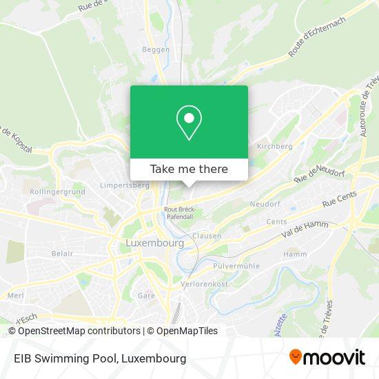 EIB Swimming Pool map