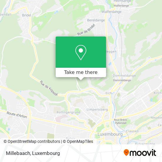 Millebaach map