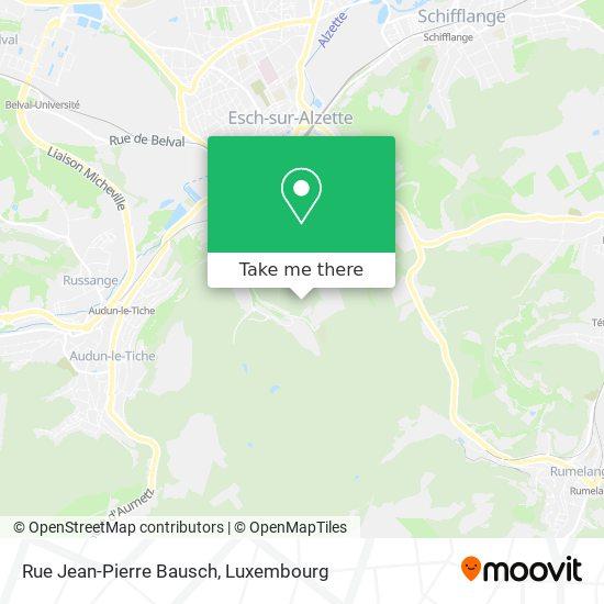Rue Jean-Pierre Bausch map