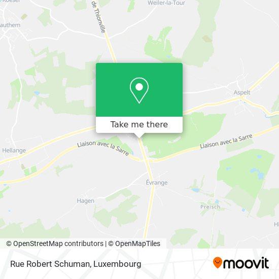 Rue Robert Schuman map