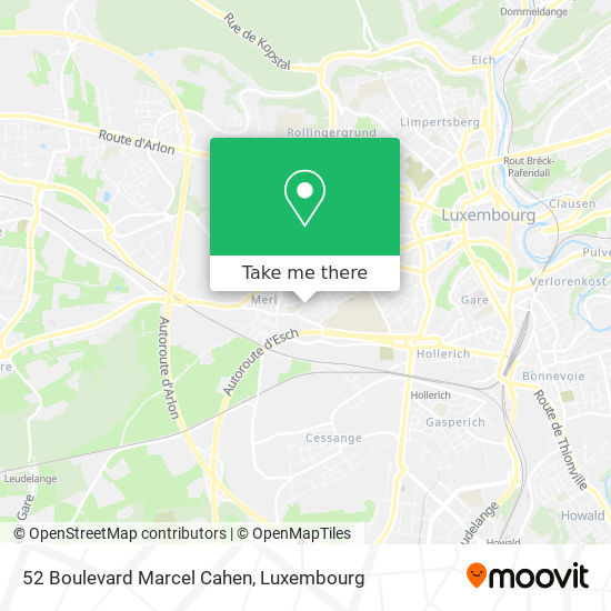52 Boulevard Marcel Cahen map