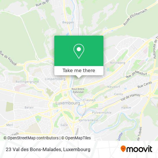 23 Val des Bons-Malades map