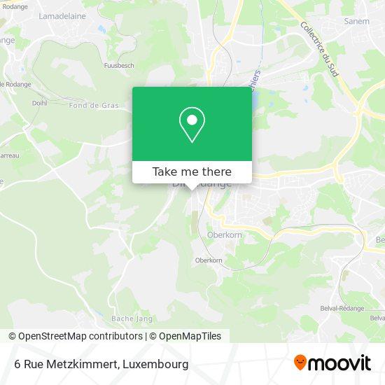 6 Rue Metzkimmert map