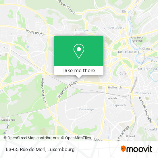 63-65 Rue de Merl map