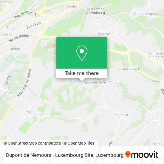 Dupont de Nemours - Luxembourg Site map