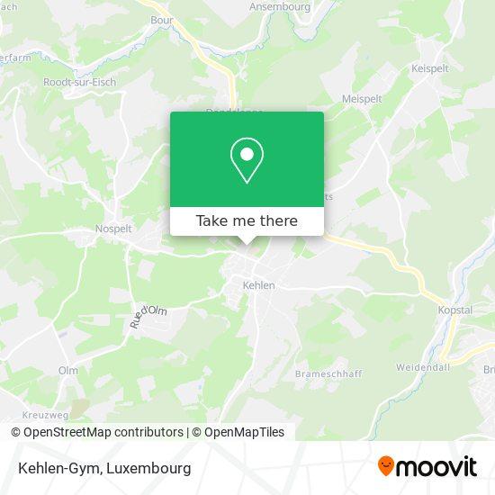 Kehlen-Gym map