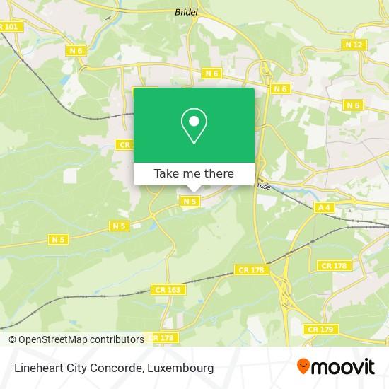 Lineheart City Concorde map
