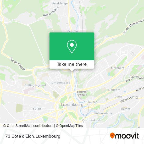 73 Côté d'Eich map