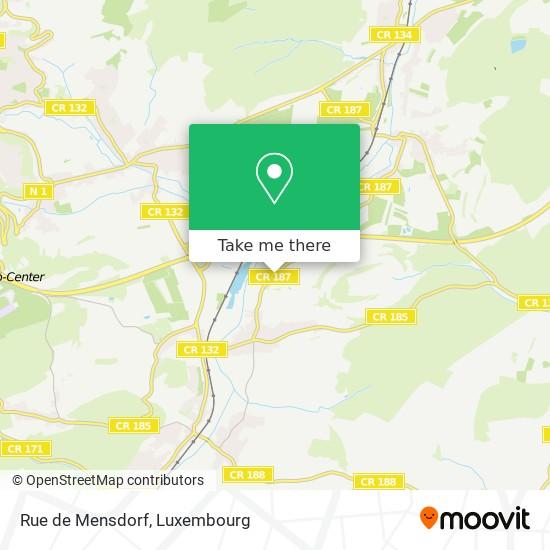 Rue de Mensdorf map