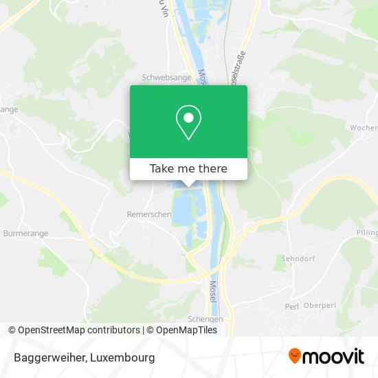 Baggerweiher map