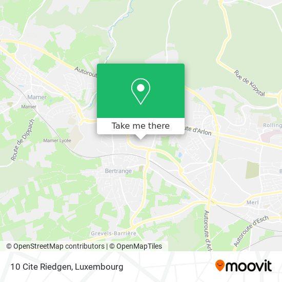 10 Cite Riedgen map
