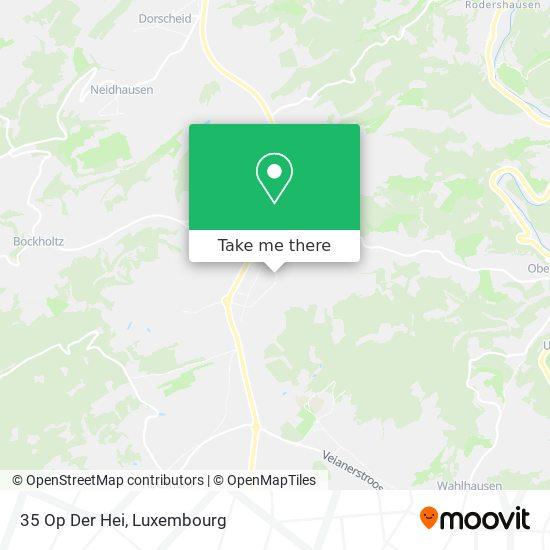 35 Op Der Hei map