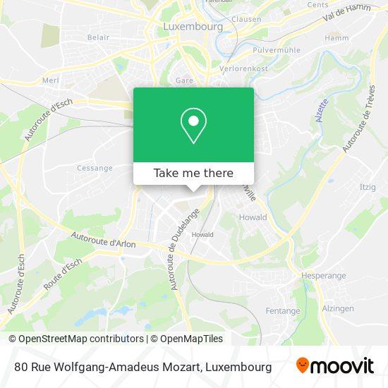 80 Rue Wolfgang-Amadeus Mozart map