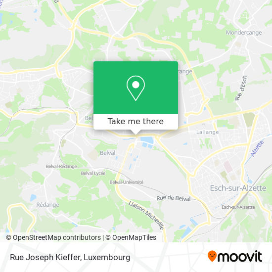 Rue Joseph Kieffer map