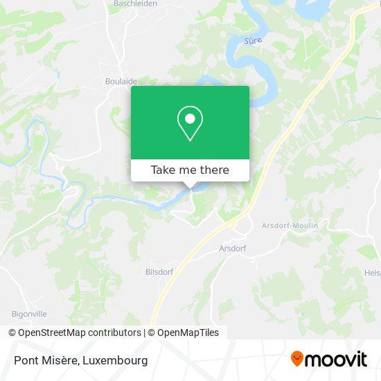 Pont Misère map