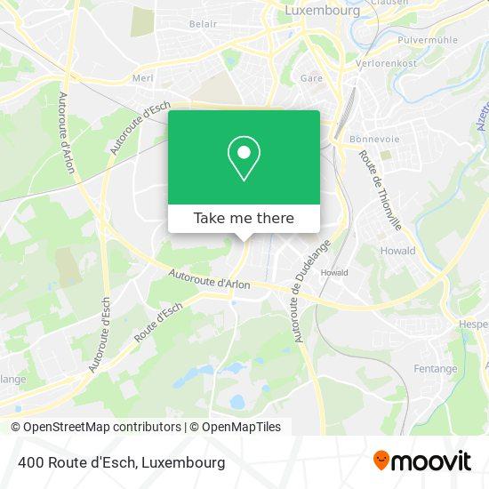 400 Route d'Esch map