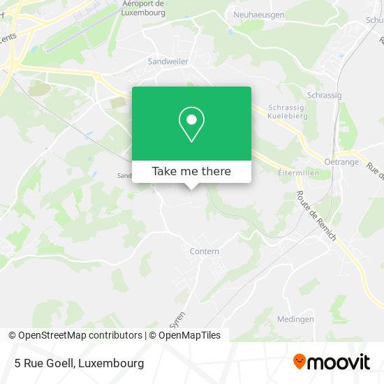 5 Rue Goell map