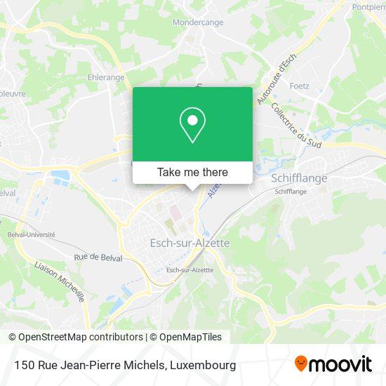 150 Rue Jean-Pierre Michels map