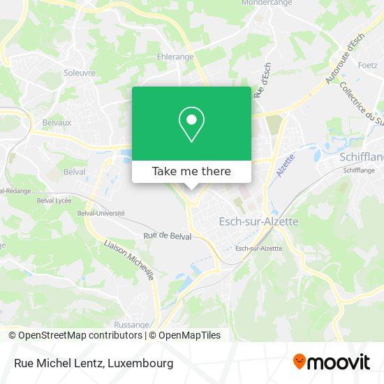 Rue Michel Lentz map