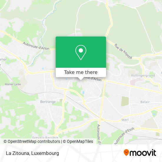 La Zitouna map