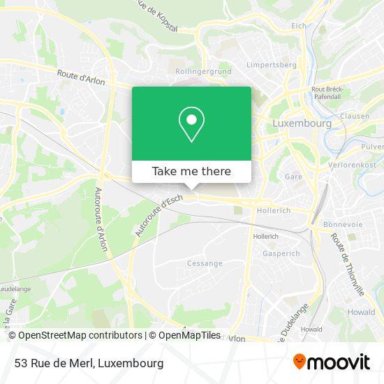53 Rue de Merl map