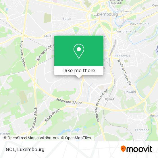 GOL map