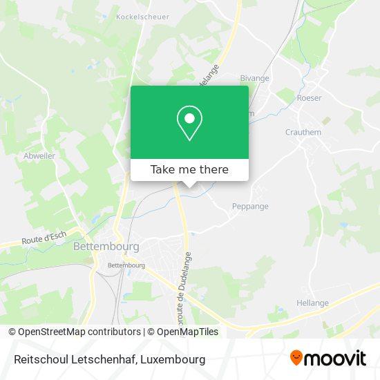 Reitschoul Letschenhaf map