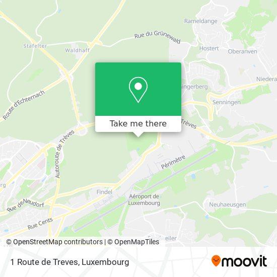1 Route de Treves map