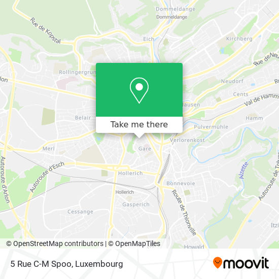 5 Rue C-M Spoo map