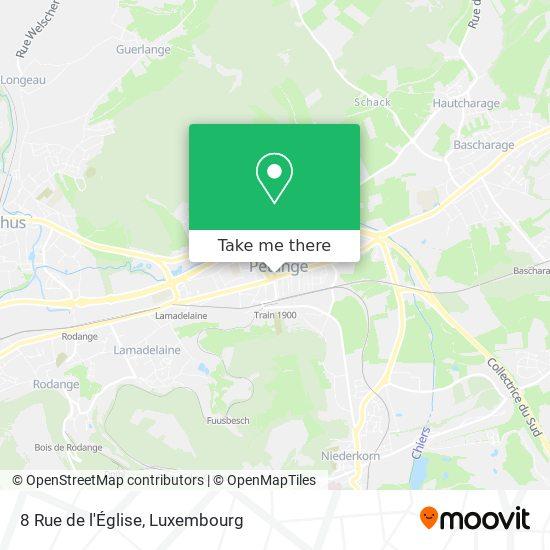 8 Rue de l'Église map