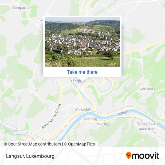 Langsur map