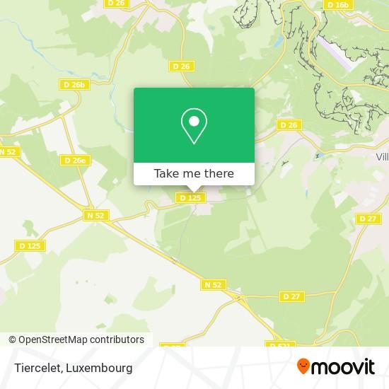 Tiercelet map