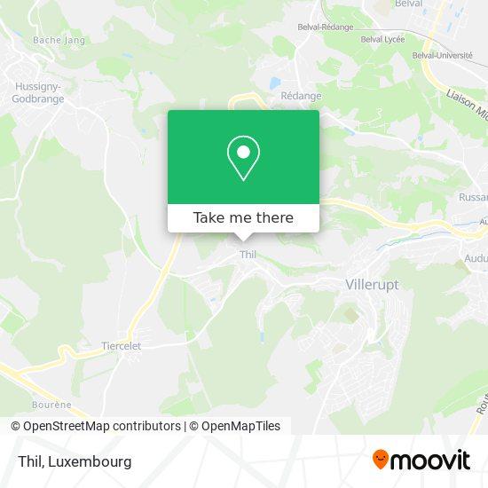 Thil map