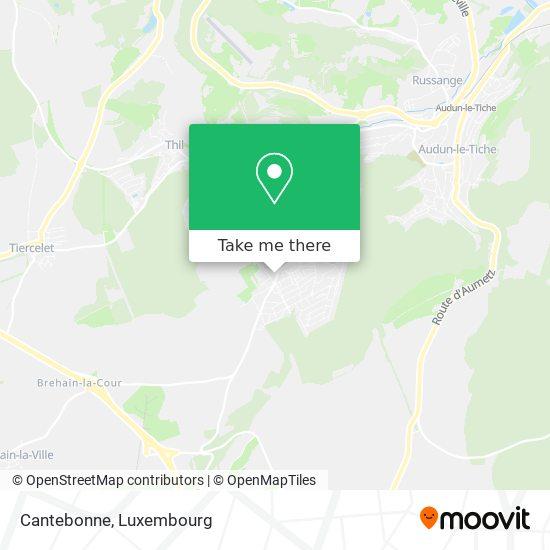 Cantebonne map