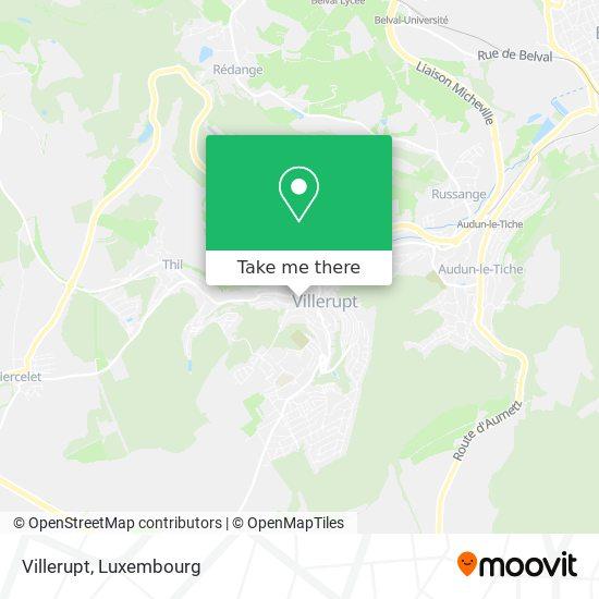 Villerupt map
