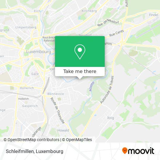 Schleifmillen map
