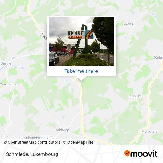 Schmiede map